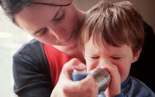 Причины и лечение бронхоспазма у детей