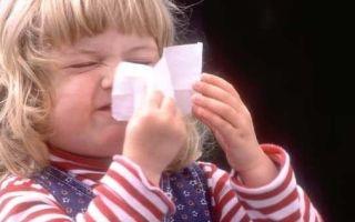 Ринит у ребенка в 1 год: эффективное избавление и свобода дыхания