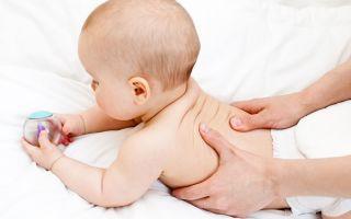 Расслабляющий массаж для грудных детей, и старше