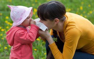 Капли от аллергии у детей