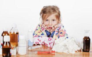 Основные признаки гриппа в детском возрасте