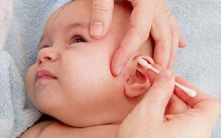 Как чистить ушки новорожденному, грудному ребенку и после года