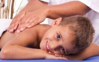 Массаж спины и груди при сколиозе у детей