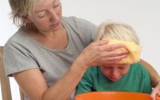 Выясняем причину и избавляемся от рвоты жёлчью у ребёнка