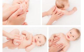 Методика массажа ребенку при дисплазии