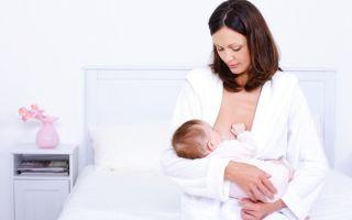 Ангина и лактация у матери при грудном кормлении ребенка
