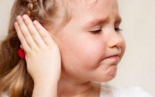 Симптомы и лечение катарального отита у детей