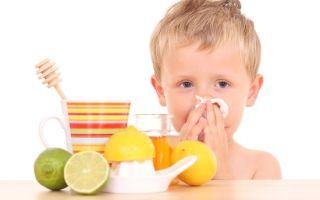 Как вылечить детский насморк дома?