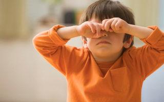 Лечим ячмень на глазках у ребенка