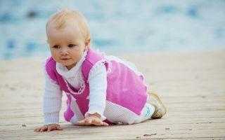 Как проходит развитие малыша в 8 месяцев