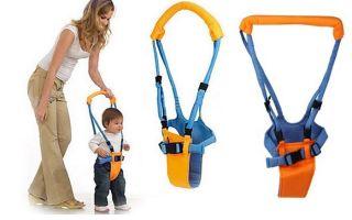 Когда можно начинать сажать ребёнка в ходунки
