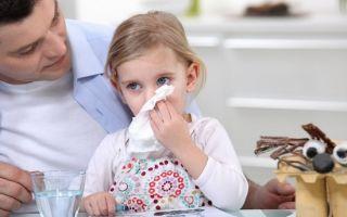 У ребенка насморк — чем лечить?