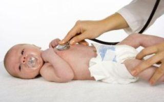 Повышенная температура тела новорождённого