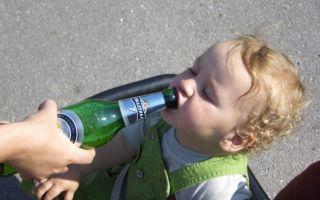 Бывает ли алкоголизм у детей?