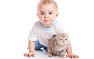 Как избавить грудного малыша от аллергии?