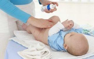 Пупочная ранка и её обработка у новорождённого