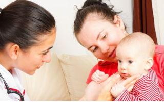 Воспаление лимфоузлов за ухом у детей
