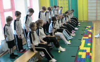 Профилактика развития плоскостопия у детей