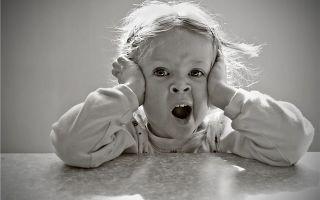 Герпесное поражение горла у детей