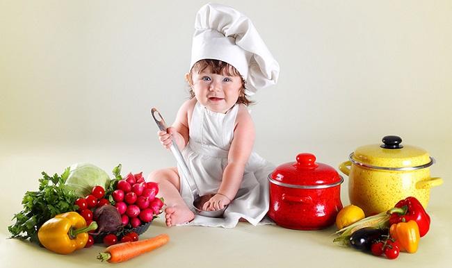 Продукты с витаминами для ребенка