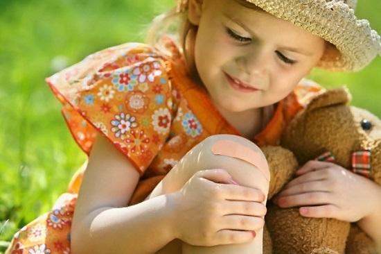 перелом кости у детей