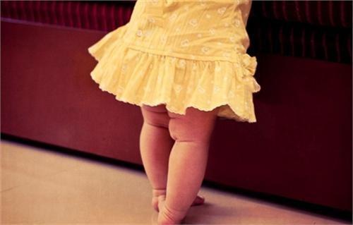колени ребенка