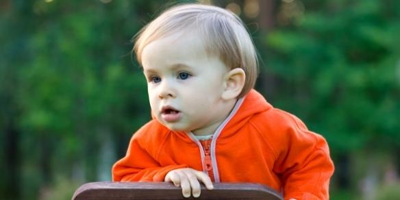 Малыш с лейкозом