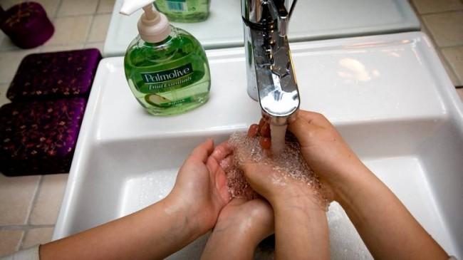 Мытье рук - важно