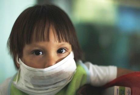 Ребенок болеет свиным гриппом