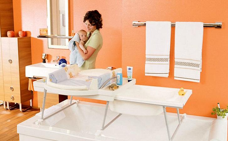 Ванночка-комод с пеленальным столиком