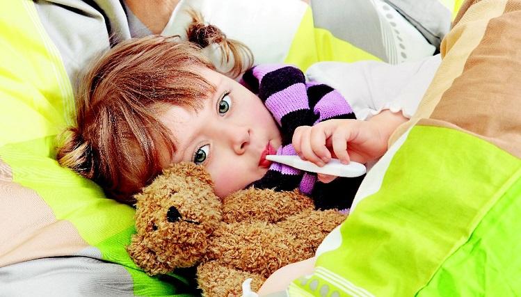 признаки простуды у ребенка 3 года