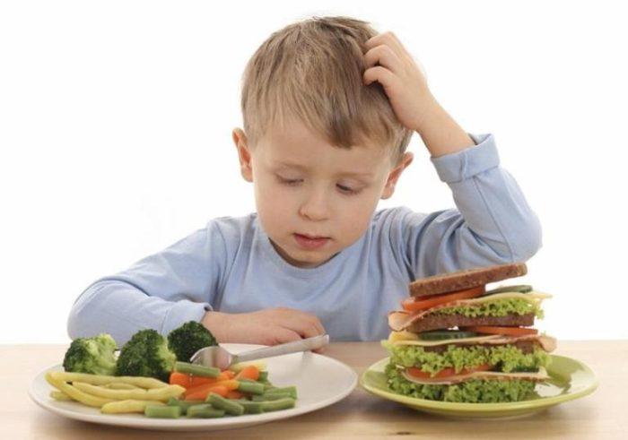 ребенок и диетические продукты
