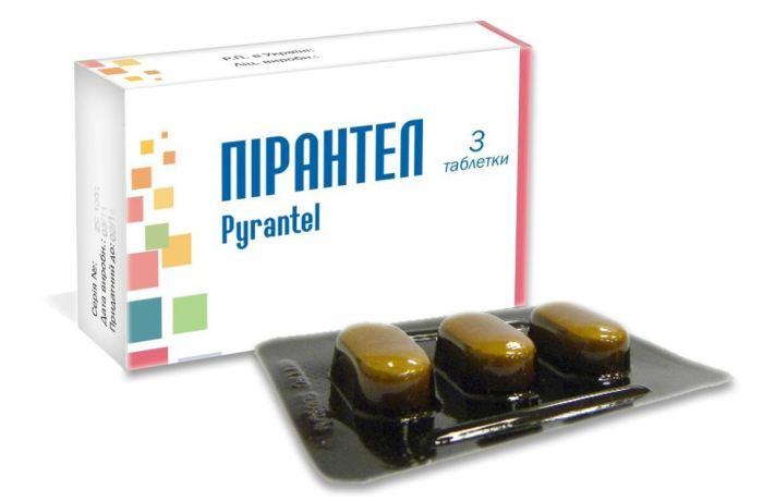 Пирантел для лечения аскаридоза у детей