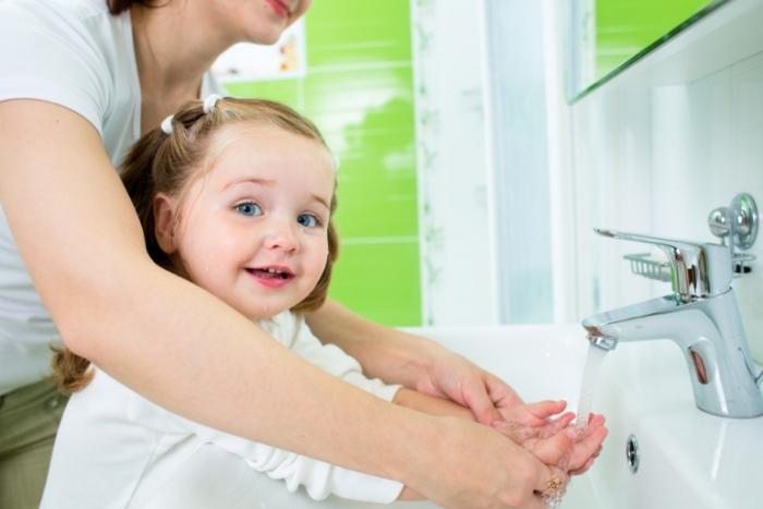 Соблюдение гигиены у ребенка для профилактики аскаридоза