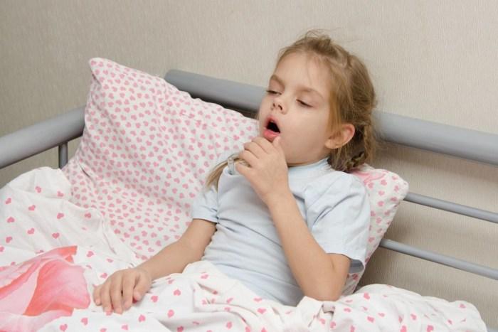 Развитие кашля у ребенка
