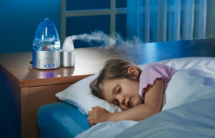 Увлажнитель воздуха в детской комнате