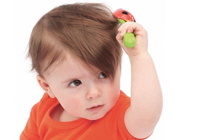 Корочки на волосистой части головы у ребенка