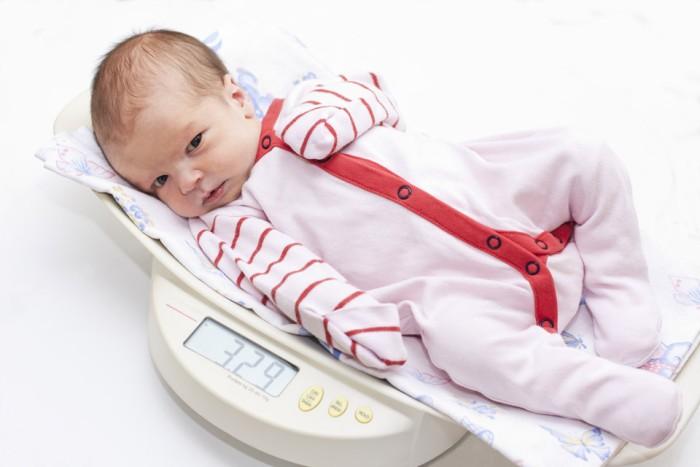 Малый вес новорожденного