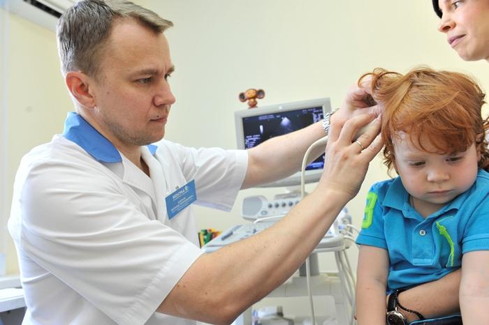 УЗИ мозга у ребенка