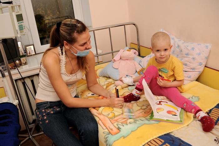 Лейкемия у ребенка
