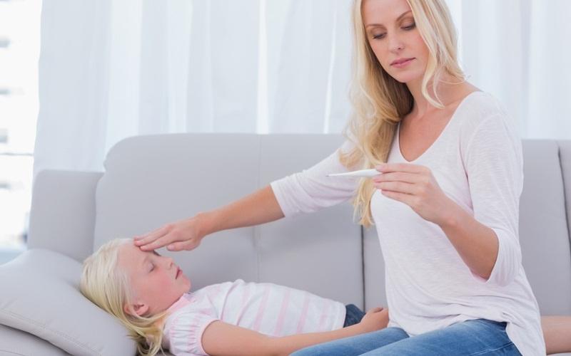 Повышенная температура тела у ребенка у ребенка