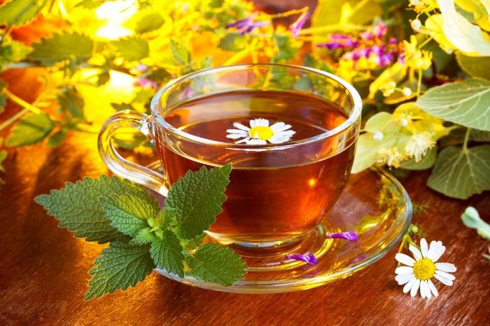 Травяной чай для лечения ОРВИ