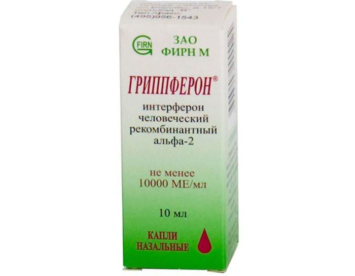 «Гриппферон» для лечения насморка