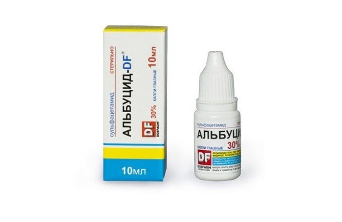 «Альбуцид» для лечения детского насморка