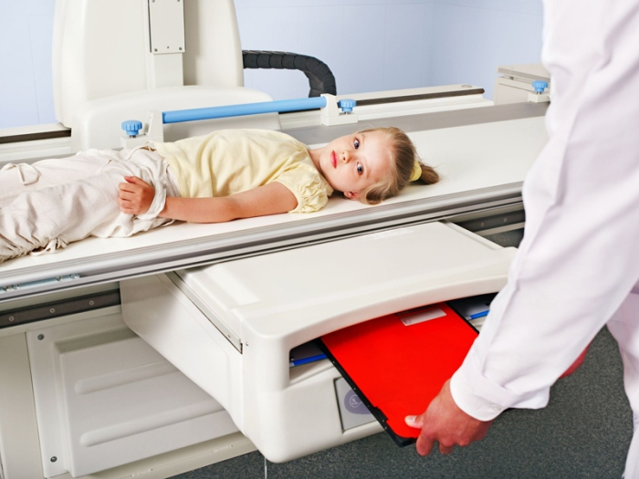 Рентген груди у ребенка