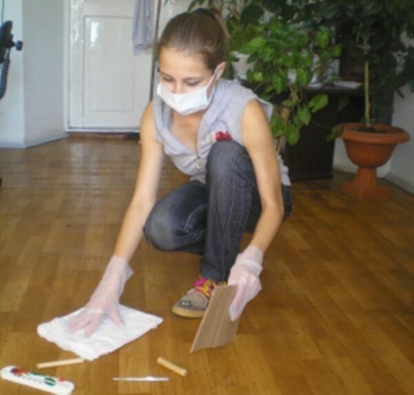 При уборке ртути необходимы защитные средства