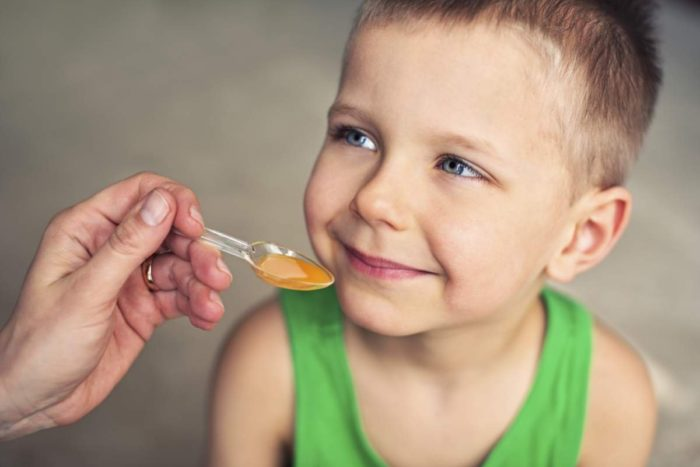 Профилактический сироп для ребенка