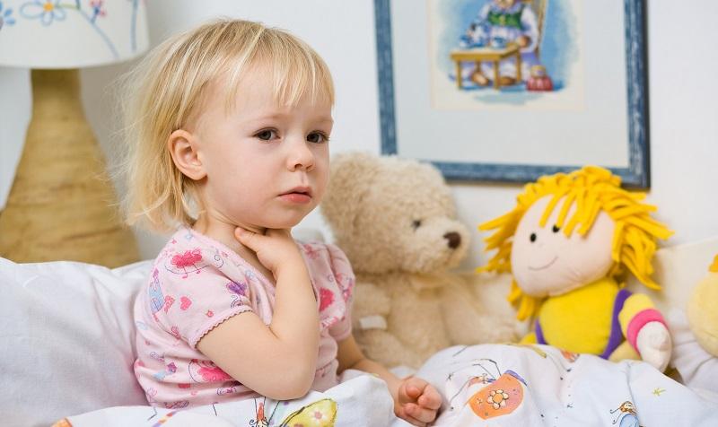 У ребенка болит горло Средства от боли