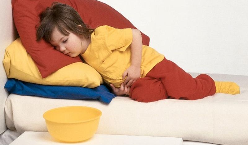Рвота у ребенка: что делать, причины, лечение
