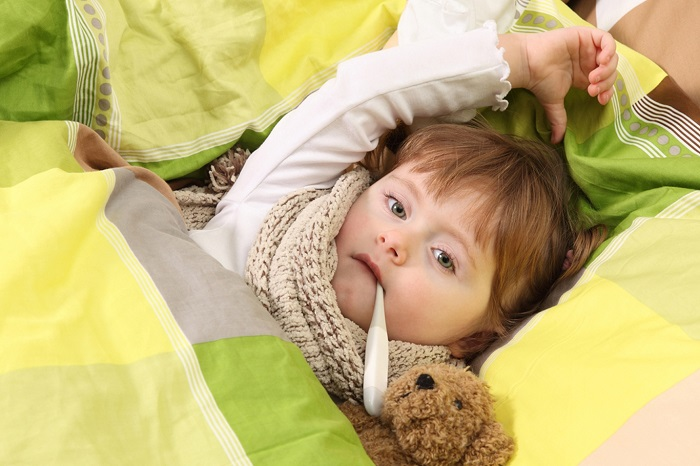 Чем сбить температуру у ребенка 7 лет в домашних условиях